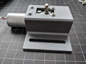 Sliding Mounting Bracket for uxcell JSX-370 series gearmotors