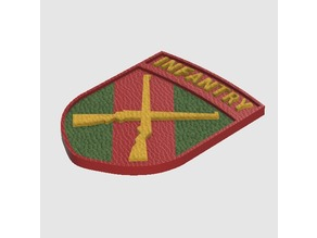 Call of Duty WW2 - Infantry Division Badge