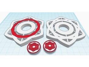 Cycloid Fidget Spinner