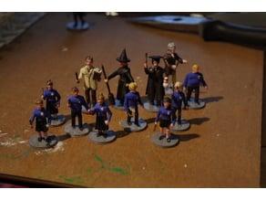 Wizardy Schoolkids and Teachers