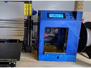 'mini' - a traveling 3d printer