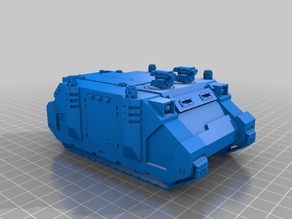 Rhinoceros Sci-Fi Marine transport