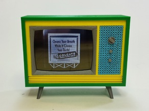 Working Miniature Television