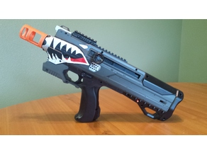 Nerf Rival Helios Barrel Adapter