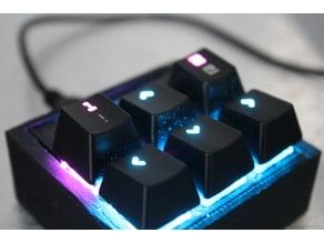 6 Keyed Macro Keypad