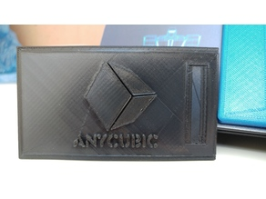Anycubic I3 Mega slidable Display Cover with logo