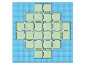 Forbidden Island Game Board Simple