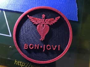 bon jovi key holder double extrusion2