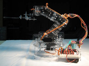 Open Source Robotic Arm