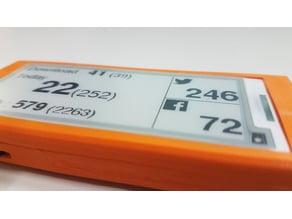 "ESP8266 2.9"" e-paper MyMonitor Enclosure"