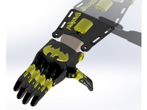 e-NABLE Phoenix Hand v2 - Batman
