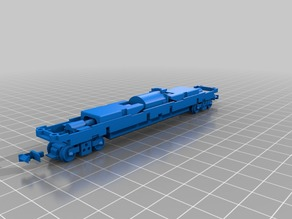 Tomytec TM-18 N scale chassis