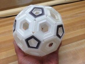 Interlocking Soccer Ball Pieces