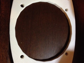 Car Speaker Adapter Plate: 6.5 to 6x9