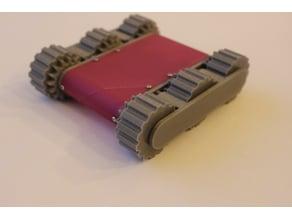Mini 6wd robotics or RC platform