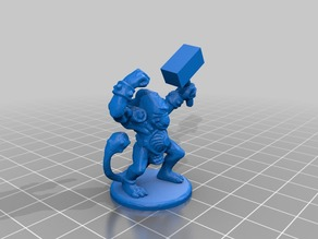 Fimir Army Project Character Models