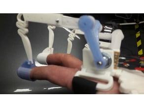 potentiometer servo controller glove