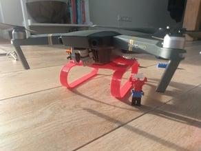 DJI Mavic Pro landing skid / raiser