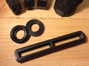 Axle and Non-Knurled Endcaps for Enhanced Math Spinner