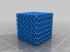 Low Poly C(D+) surface turned SHELL version