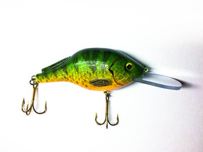 Crankbait Fishing Lure (Clear Lip)