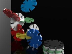 Lockable Poker Chips
