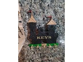 Castle key holder