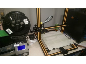 CR-10 Spool Holder for Large format eSun filament spools.