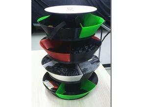 Filament spool organizer