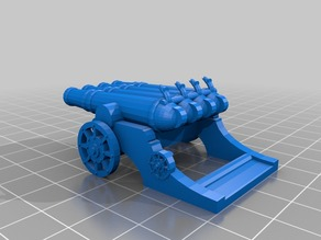 Dwarf Organ Gun