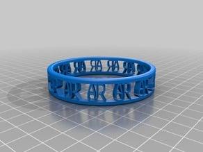 AJR v3 Bracelet improved bigger and less supports
