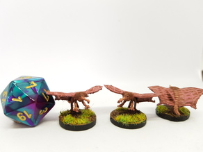 Stirge for 28mm tabletop gaming