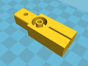 Wobbles Reducer for Makibox (Z-axis guide)