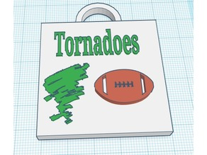 Tornado Key Chain