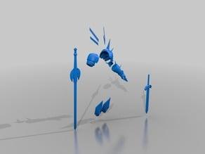 Magik Armour & Swords