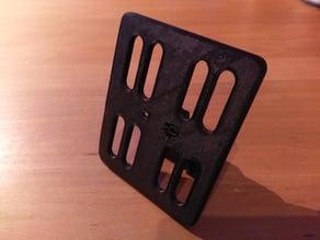 Xiaomi M365 license plate holder (German Mofa)