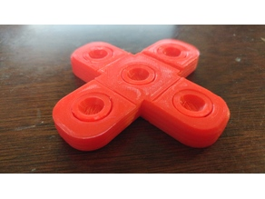 Fidget Spinner (Just print and spin, no assembly required)