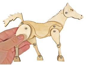 [Snapmaker] LASER CUT HORSE