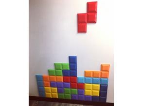 Tetromino Tile for Tetris Wall