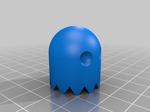 Customizable Pacman Ghost