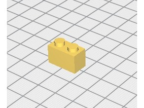 brique lego 1X2