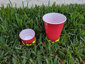 Sprinkler Cup Holder, Solo Cup Holder