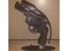 Athletics Starting Revolver Sculpture