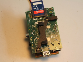 Raspberry Pi DIN rail mount