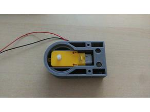 5vDC motor mod for MR-4 Robotic Tank