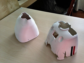 Cowling for RC Cessna (Reely)