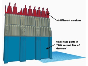 line of defense - tripple parts