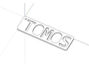 Tomos keychain