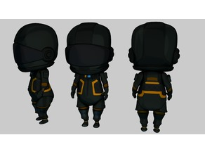 Fortnite: Chibi Dark Voyager