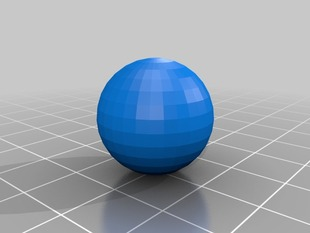 Customizable Sphere
